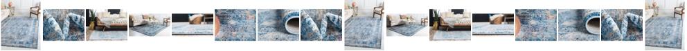 Bridgeport Home Zilla Zil2 Blue Area Rug Collection