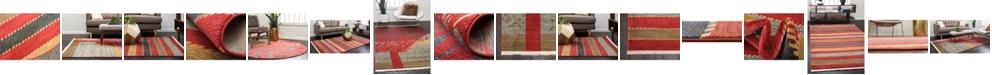 Bridgeport Home Ojas Oja1 Red Area Rug Collection