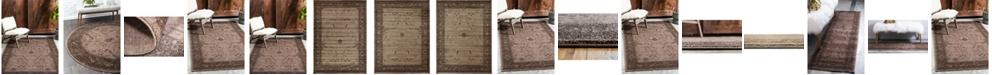 Bridgeport Home Aldrose Ald4 Light Brown Area Rug Collection