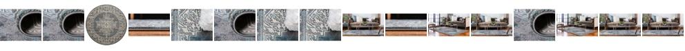 Bridgeport Home Aroa Aro8 Gray Area Rug Collection