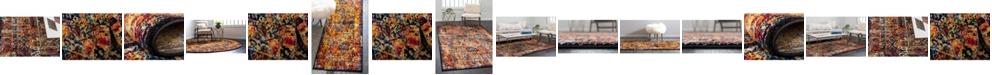 Bridgeport Home Mishti Mis1 Orange Area Rug Collection