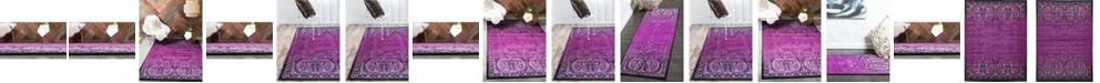 Bridgeport Home Linport Lin6 Lilac Area Rug Collection