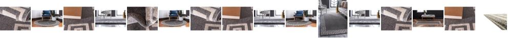 Bridgeport Home Anzu Anz2 Gray Area Rug Collection