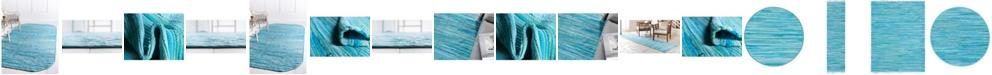 Bridgeport Home Jari Striped Jar1 Turquoise Area Rug Collection