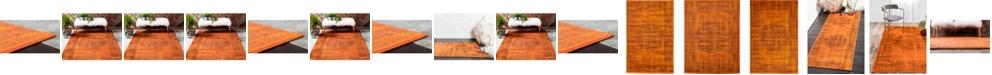 Bridgeport Home Linport Lin5 Terracotta Area Rug Collection