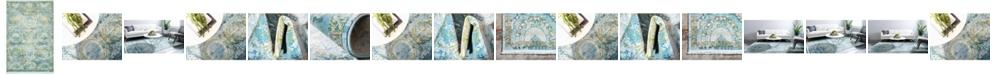 Bridgeport Home Kenna Ken4 Light Blue Area Rug Collection