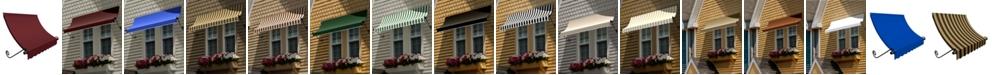 "Awntech 5' Charleston Window/Entry Awning, 18"" H x 36"" D"