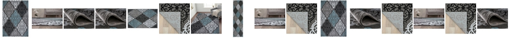 Main Street Rugs Home Montane Mon111 Gray Area Rug Collection