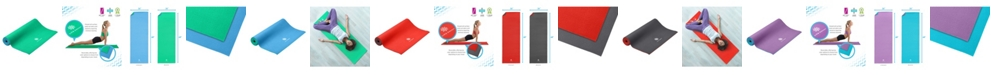 Life Energy Reversible 6MM Yoga Mat