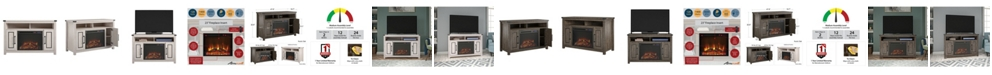 """A Design Studio Gladden Fireplace TV Stand for TVs up to 48"""""""