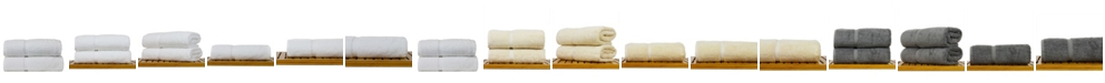 BC Bare Cotton Luxury Hotel Spa Towel Turkish Cotton Bath Towels, Set of 2