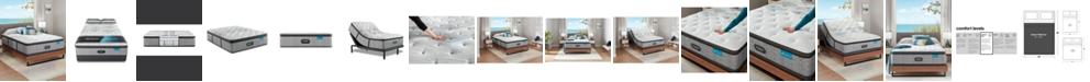 """Beautyrest Harmony Lux Carbon 15.75"""" Medium Firm Pillow Top Mattress - Queen"""