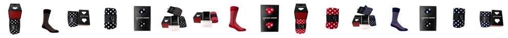 Love Sock Company Men's Socks Gift Box - Red Line