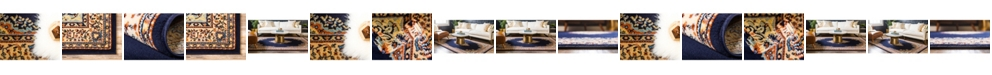 Bridgeport Home Birsu Bir1 Navy Blue Area Rug Collection