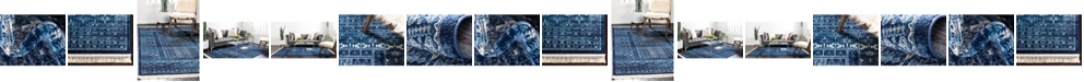 Bridgeport Home Borough Bor4 Blue Area Rug Collection