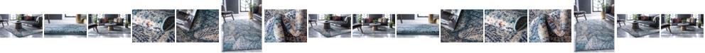 Bridgeport Home Brio Bri4 Blue Area Rug Collection