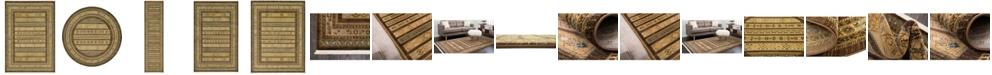 Bridgeport Home Ojas Oja4 Brown Area Rug Collection
