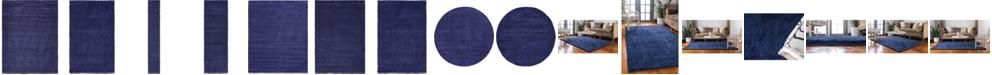 Bridgeport Home Uno Uno1 Navy Blue Area Rug Collection