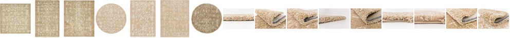 Bridgeport Home Fazil Shag Faz1 Taupe Area Rug Collection