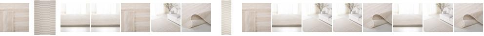 Lauren Ralph Lauren  Ludlow Stripe LRL7350D Alabaster Area Rug Collection