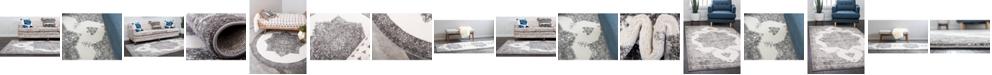Bridgeport Home Mishti Mis6 Gray Area Rug Collection