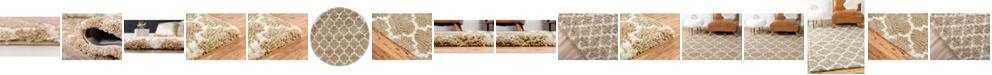 Bridgeport Home Fazil Shag Faz4 Taupe Area Rug Collection