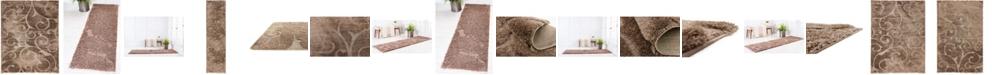 Bridgeport Home Malloway Shag Mal1 Brown Area Rug Collection