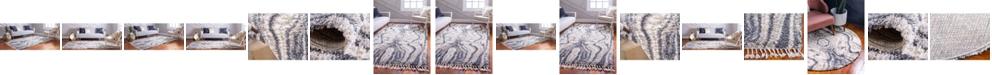 Bridgeport Home Lochcort Shag Loc4 Gray Area Rug Collection