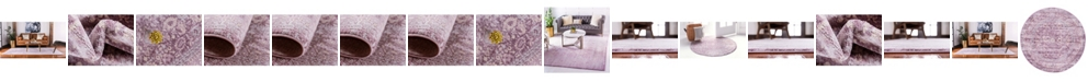 Bridgeport Home Anika Ani2 Violet Area Rug Collection