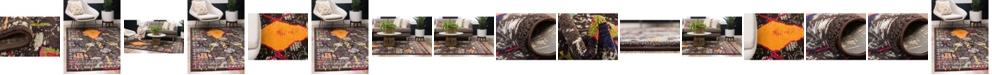 Bridgeport Home Arcata Arc2 Brown Area Rug Collection