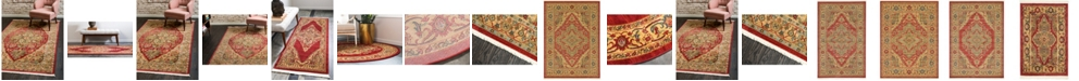Bridgeport Home Harik Har9 Red Area Rug Collection