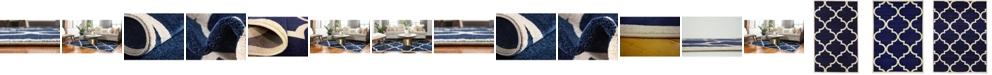 Bridgeport Home Arbor Arb3 Navy Blue Area Rug Collection