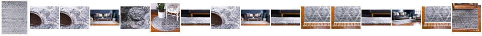 Bridgeport Home Levia Lev2 Gray Area Rug Collection
