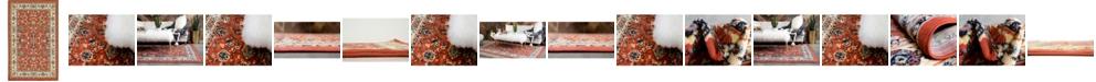 Bridgeport Home Arnav Arn1 Terracotta Area Rug Collection
