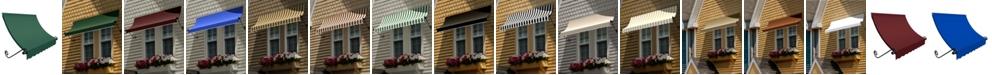 "Awntech 3' Charleston Window/Entry Awning, 18"" H x 36"" D"