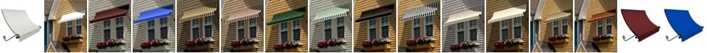 "Awntech 5' Charleston Window/Entry Awning, 24"" H x 36"" D"