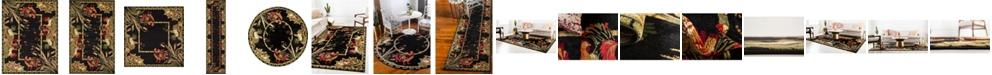 Bridgeport Home Roost Roo1 Black Area Rug Collection