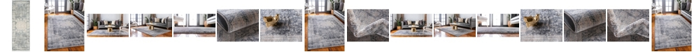 Bridgeport Home Agostina Ago1 Gray Area Rug Collection
