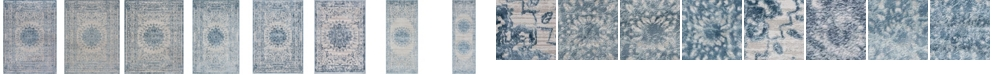Bridgeport Home Aitana Ait1 Blue Area Rug Collection
