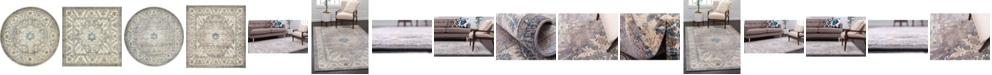 Bridgeport Home Bellmere Bel2 Gray Area Rug Collection