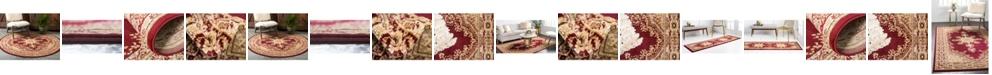 Bridgeport Home Belvoir Blv1 Red Area Rug Collection