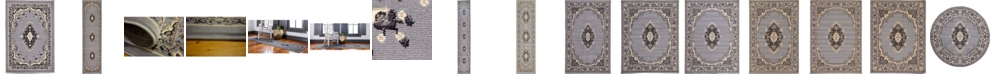 Bridgeport Home Birsu Bir1 Gray Area Rug Collection
