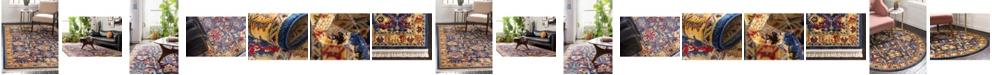 Bridgeport Home Borough Bor1 Blue Area Rug Collection