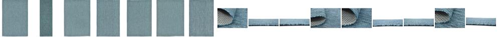Bridgeport Home Pashio Pas6 Teal Area Rug Collection