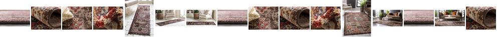 Bridgeport Home Shangri Shg3 Chocolate Brown Area Rug Collection
