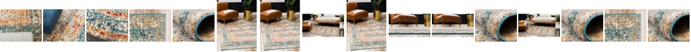 Bridgeport Home Mishti Mis7 Blue Area Rug Collection