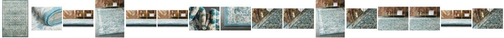 Bridgeport Home Masha Mas2 Teal Area Rug Collection