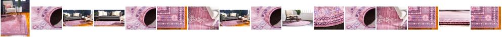 Bridgeport Home Malin Mal2 Pink Area Rug Collection