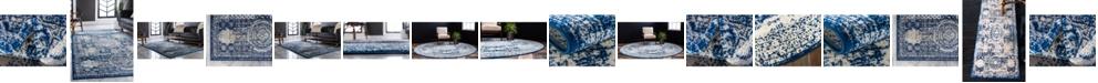Bridgeport Home Mobley Mob2 Blue Area Rug Collection