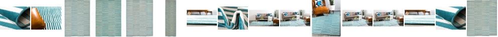 Bridgeport Home Axbridge Axb2 Teal Area Rug Collection